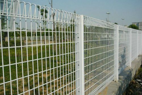 Long lasting BRC security fence outside a property perfectly installed by the leading supplier in Singapore