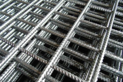 Close up view of BRC wire mesh by the best fencing contractor in Singapore