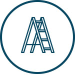 Cat ladder icon