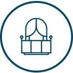 Glass railing icon