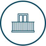 Icon image of metal railing